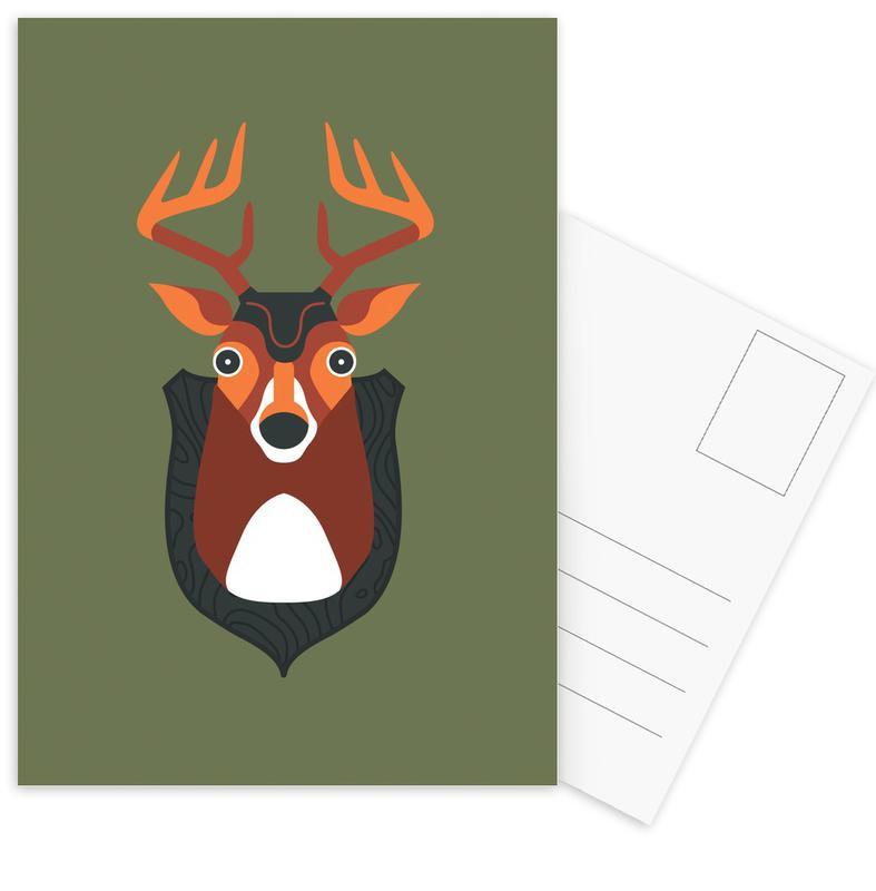 Blankensee - Deer -Postkartenset