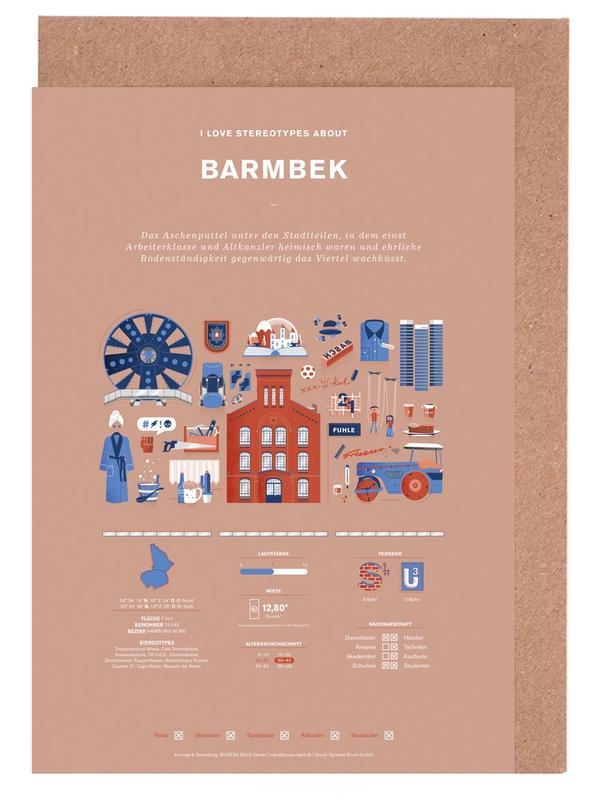 Barmbek -Grußkarten-Set