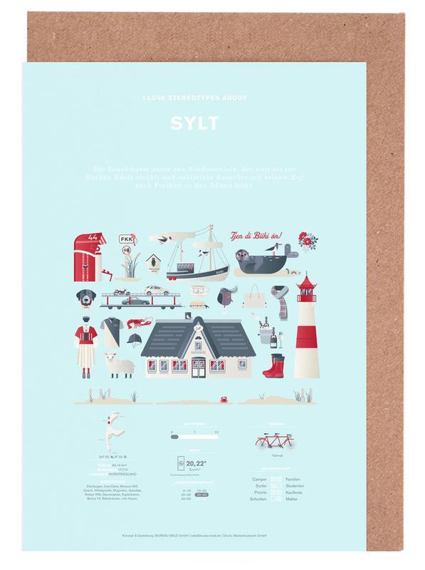 Sylt Greeting Card Set