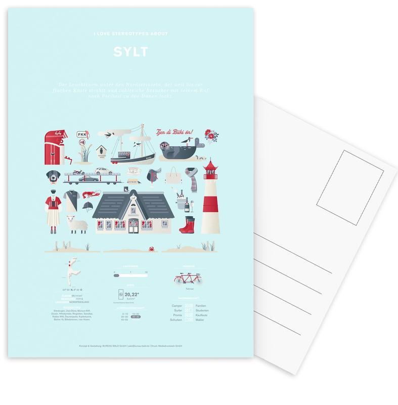 Sylt Postcard Set