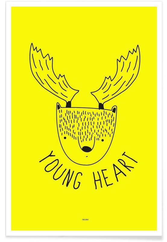 Deer, Young Heart 2 Poster