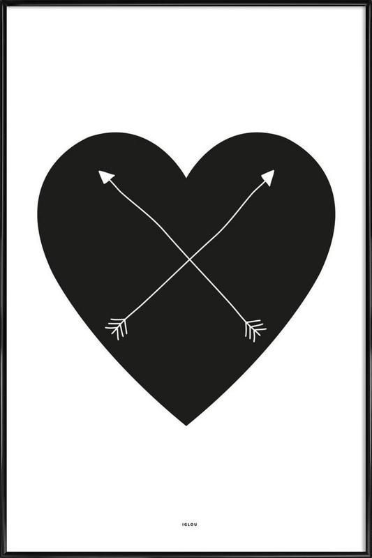 Heart Framed Poster