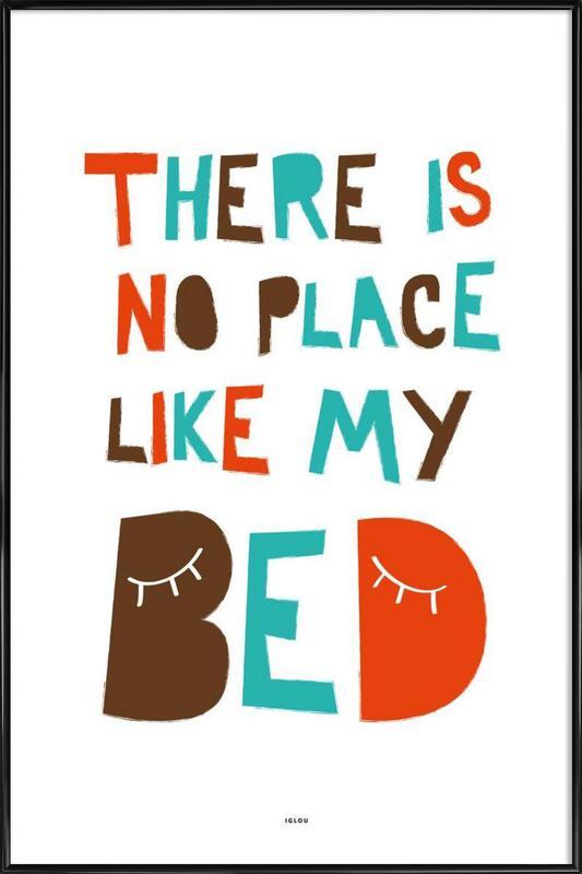 My Bed Framed Poster