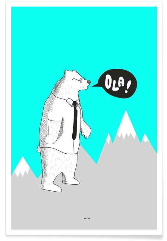 Bären, Ola -Poster