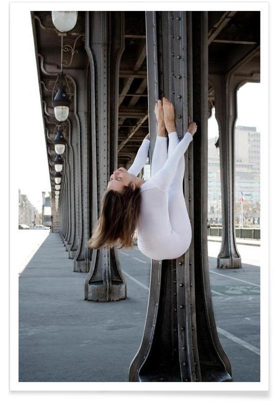 Yoga, Paris, Paris #1 Poster