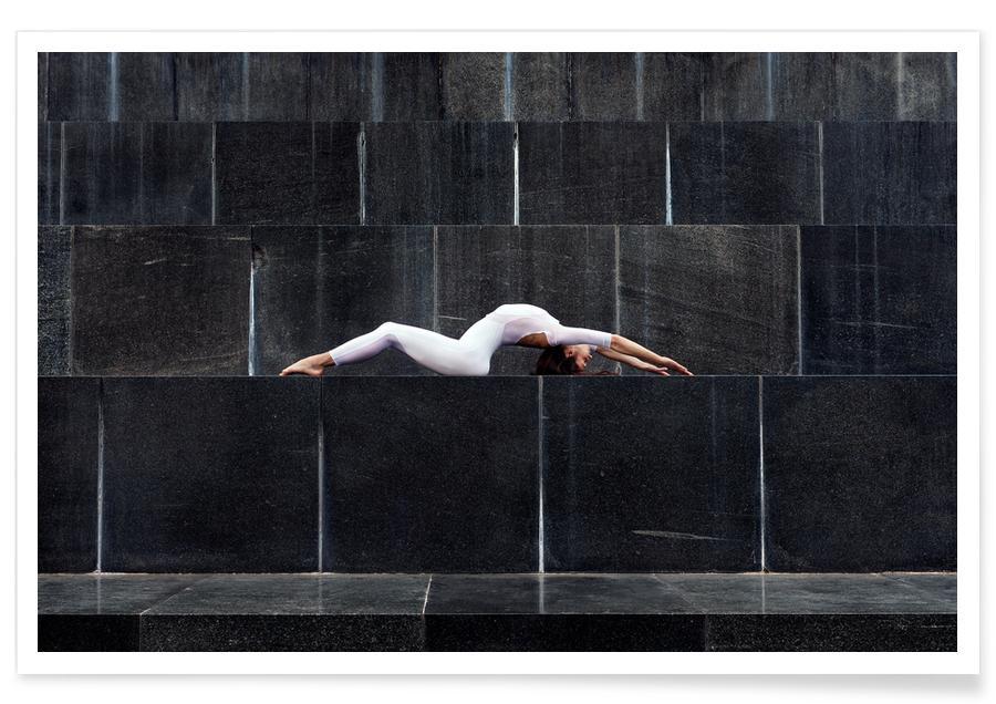 Architectural Details, Yoga, Belgrade #2 Poster
