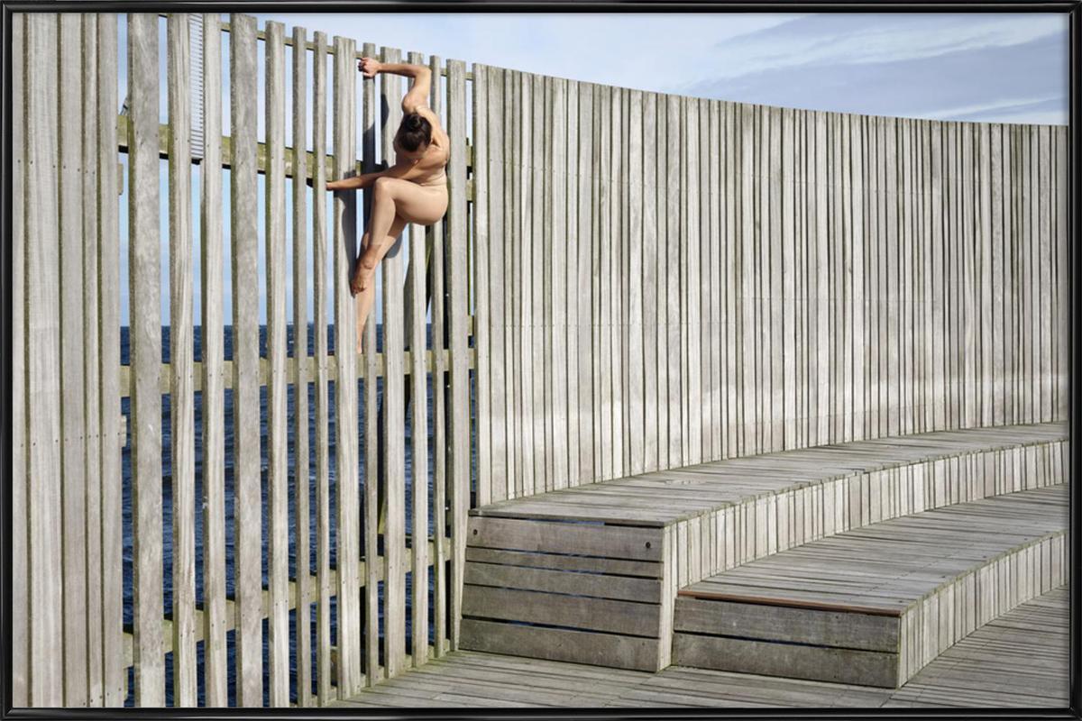 Copenhagen #1 -Bild mit Kunststoffrahmen