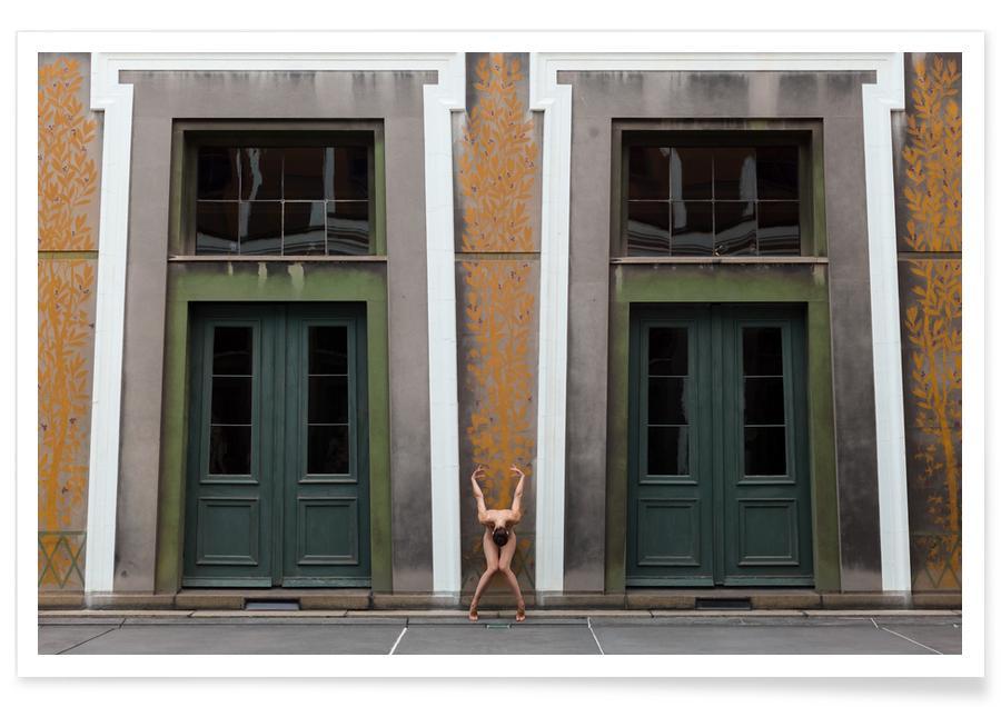 Kopenhagen, Yoga, Copenhagen #2 -Poster