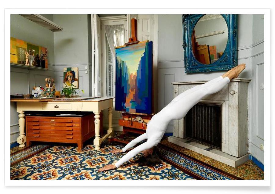Madrid, Yoga, Madrid #5 Poster