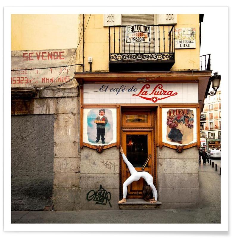 Madrid, Yoga, Madrid #10 Poster