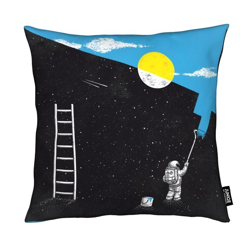 Astronauten, Lustig, Street Art, Painting Day