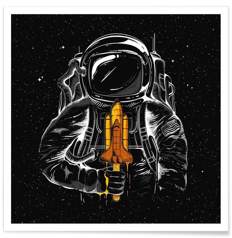 Space Popsicles -Poster