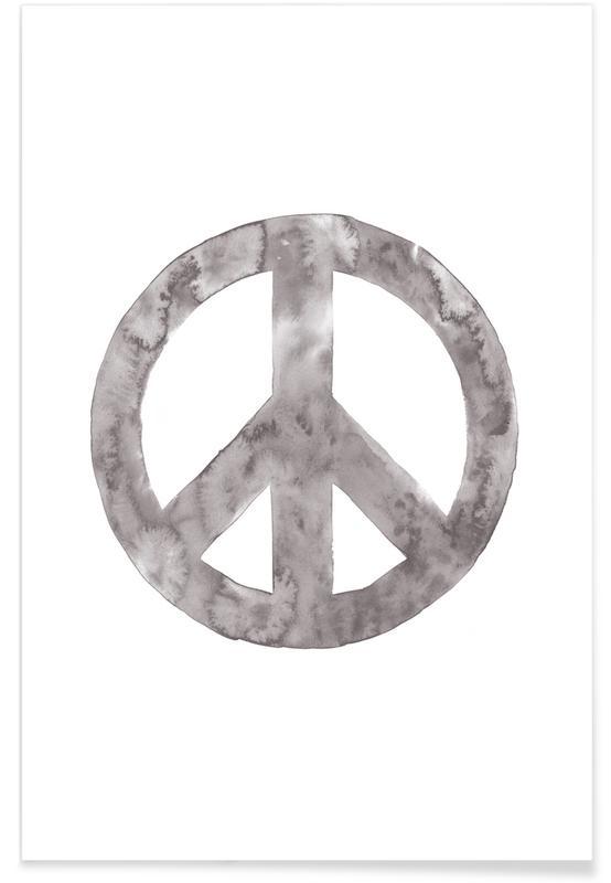 Symbole, Peace Sign -Poster