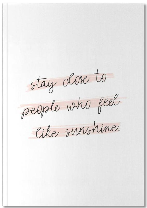 Sunshine Quote Notebook