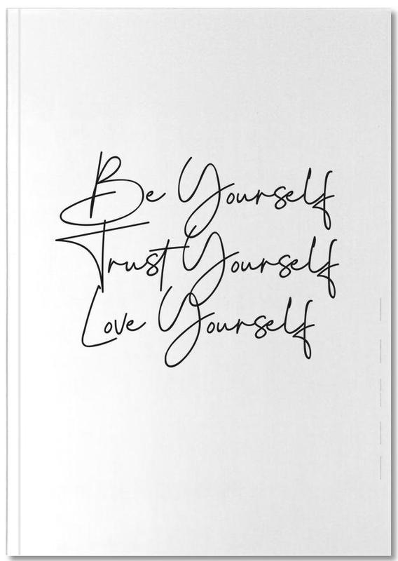 Noir & blanc, Citations et slogans, Motivation, Yourself Notebook