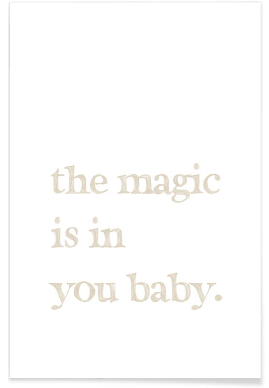 Love Quotes, Anniversaries & Love, The Magic is You Poster