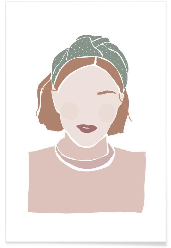 Turban Girl Poster