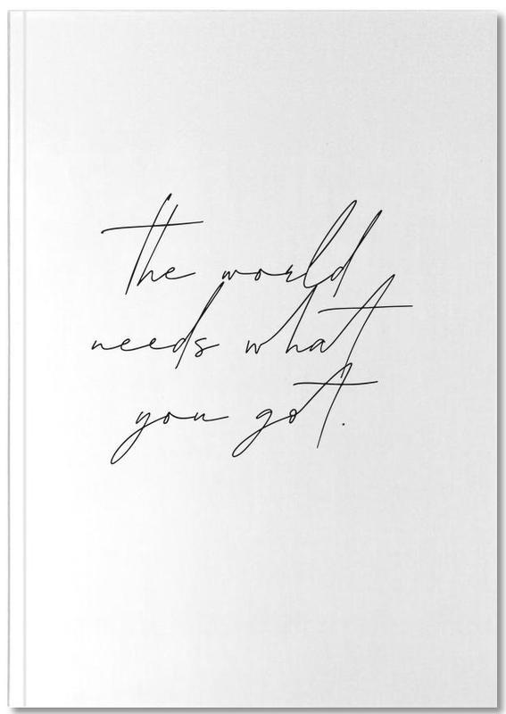 Motivation, The World Notebook