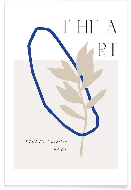 Bladeren en planten, The Art No 8 poster