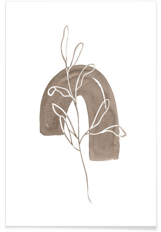 , Leaf Art -Poster