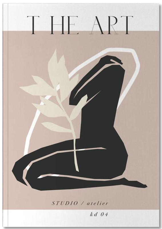 Nude, The Art No 4 Notebook