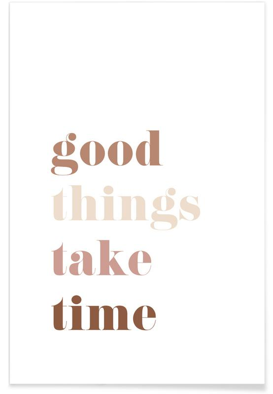 Quotes & Slogans, Goodthings Poster