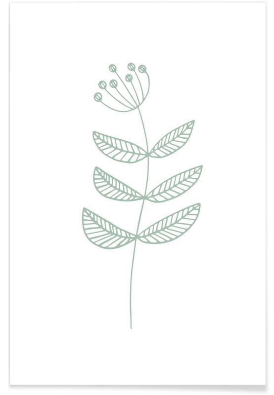 , Green Sketch affiche