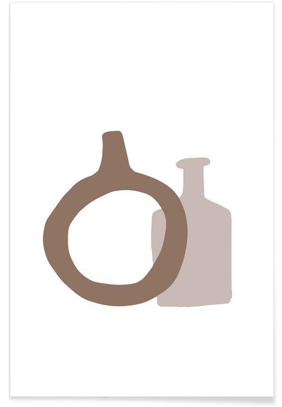 , Vases No2 affiche