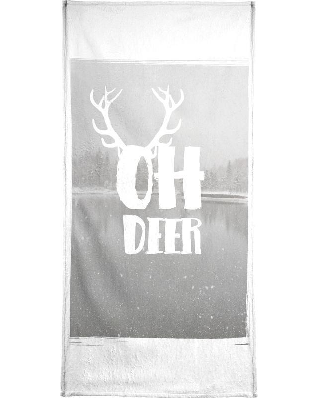 Oh Deer -Handtuch