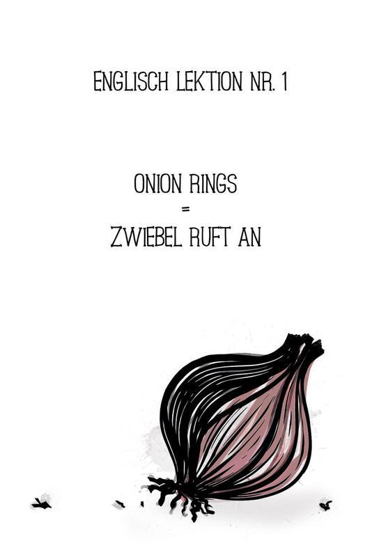 Onion Aluminium Print