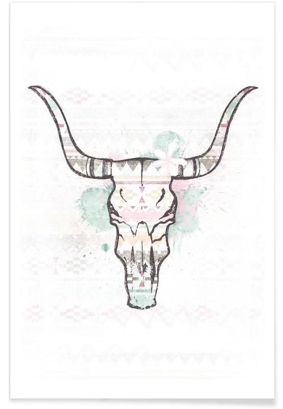 Skull 2 -Poster