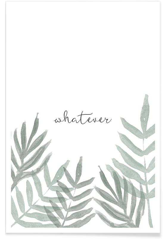 Whatever -Poster