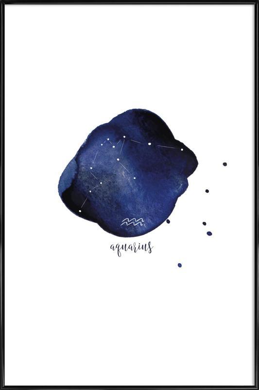 Aquarius Framed Poster