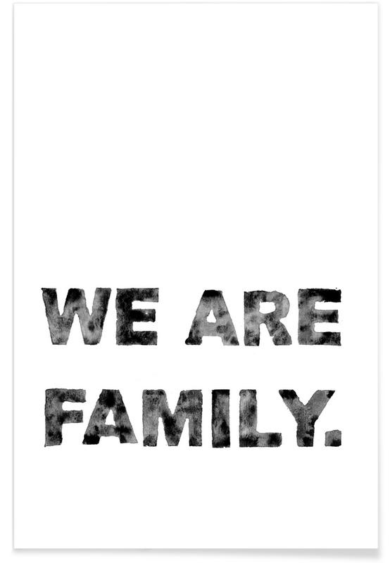 We Are Family -Poster