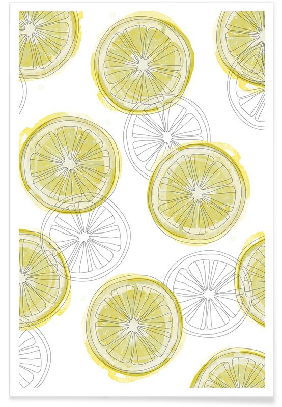 Zitrone -Poster