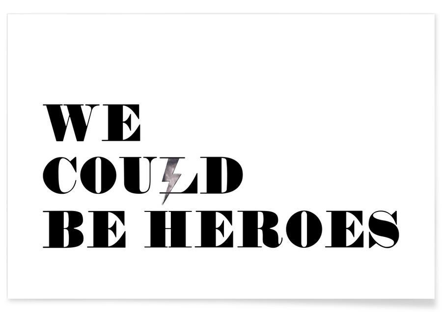 Motivatie, David Bowie, Songteksten, Heroes poster