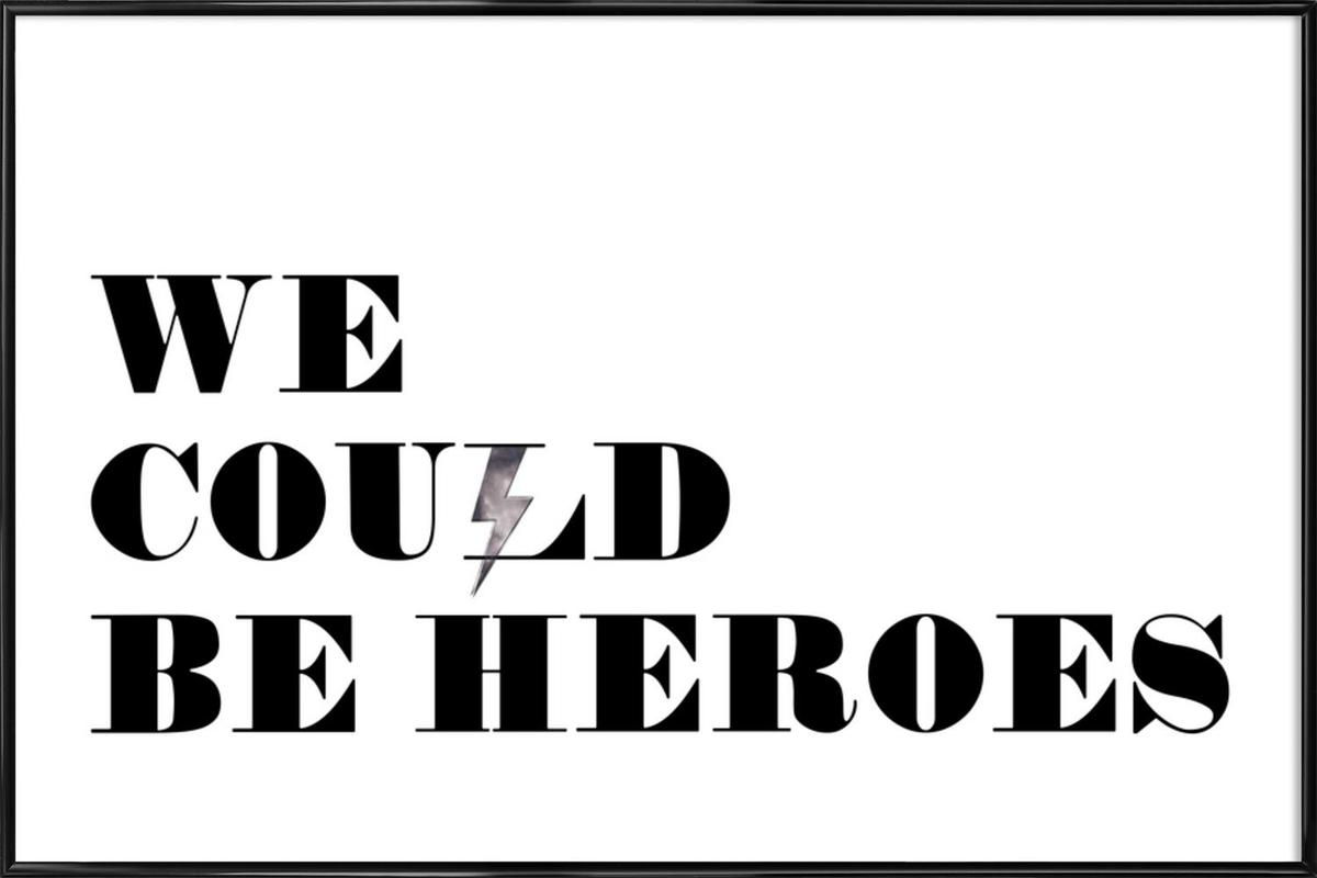 Heroes Framed Poster