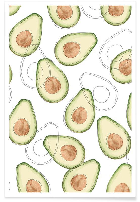 Avocado -Poster
