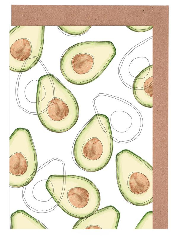 Avocado Greeting Card Set