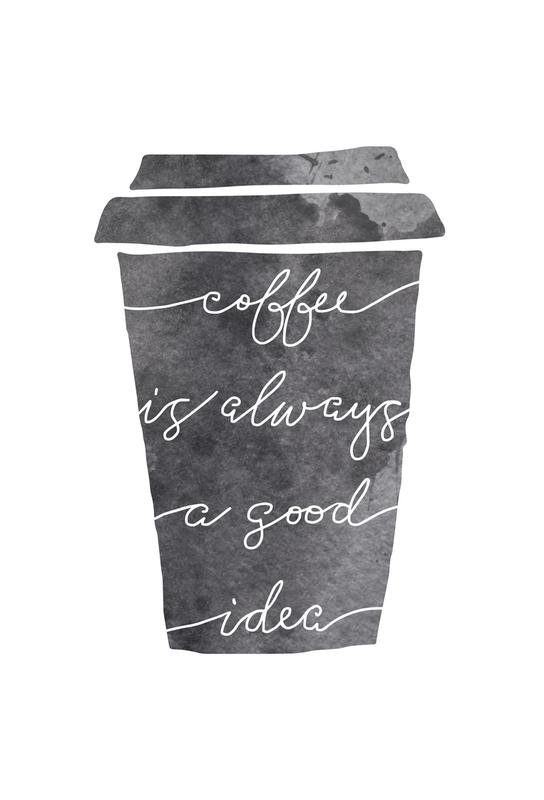 Coffee -Acrylglasbild