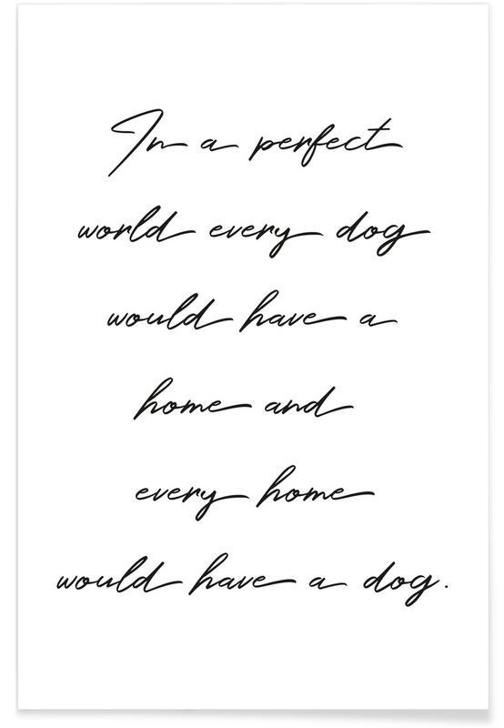 Dog -Poster
