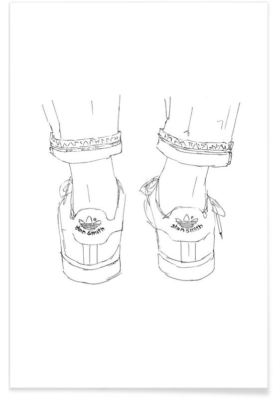 Sneaker -Poster