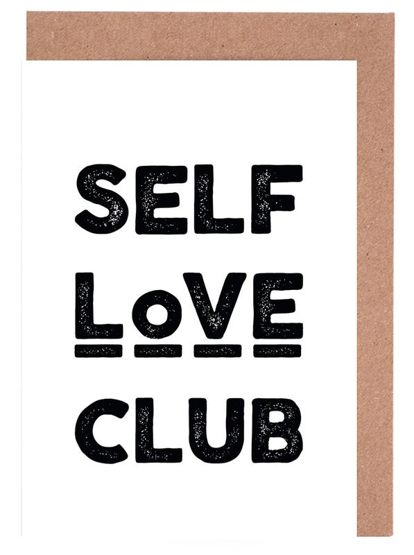 Peace Selflove Club Greeting Card Set