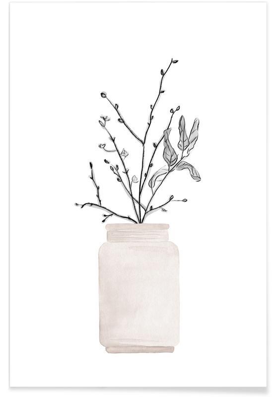 Winter Flower -Poster