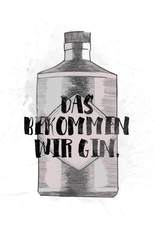 Gin Aluminiumtavla
