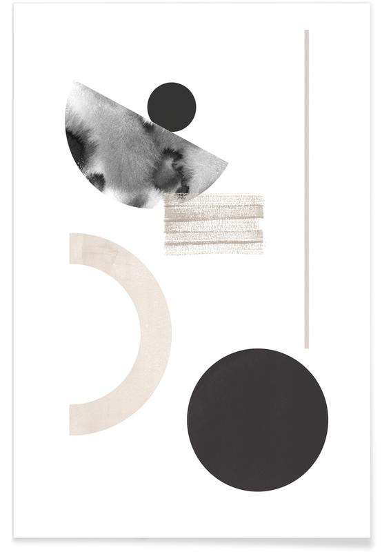 Abstract Black -Poster