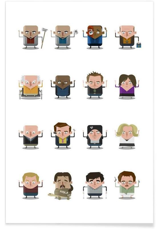 TV Shows, Breaking Bad Poster