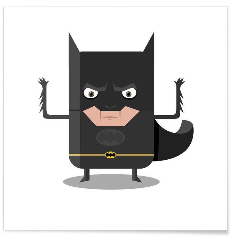 Batman, Art pour enfants, Batman affiche