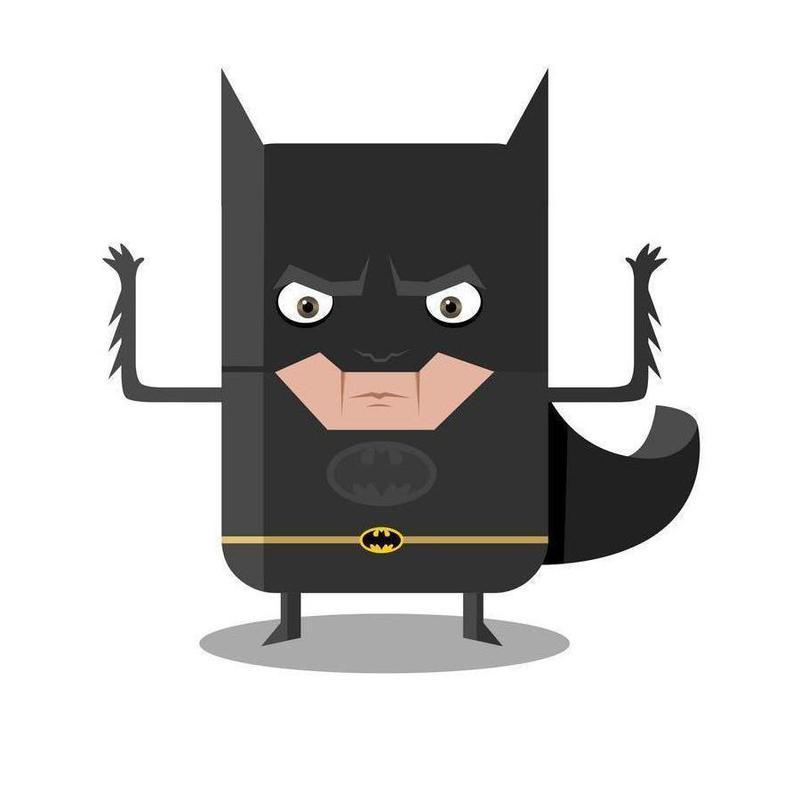 Batman canvas doek