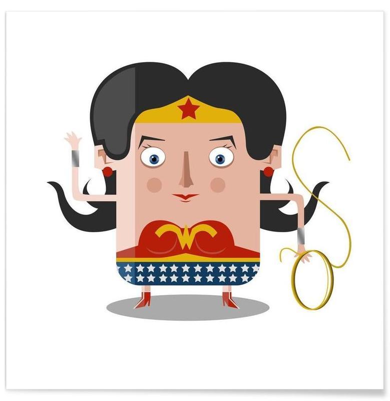 TV Shows, Wonderwoman Poster